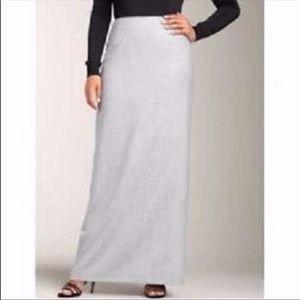 Talbots Gray wool skirt 12